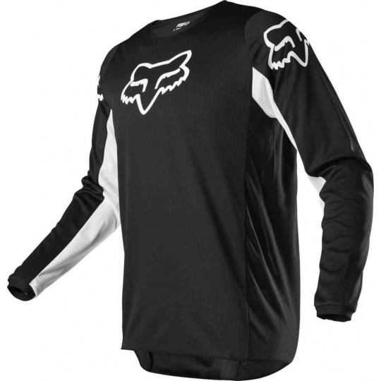 Pánský MX dres Fox 180 Prix Jersey Black/White