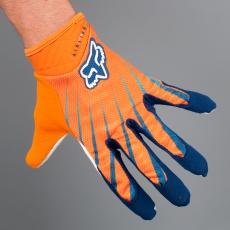 Pánské rukavice Fox Airline GLV Orange/Blue
