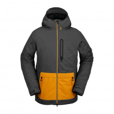 Pánská bunda Volcom Deadlystones Ins Jacket Dark Grey