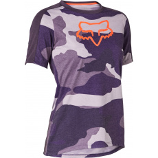 Dámský dres Fox W Ranger Dr Ss Jrsy Dark Purple