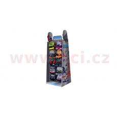 prezentační stojan pro šátky Comfy/Snug/Clava, OXFORD (papírový, pro 100 ks balení, ŠxHLxV = 640x550x1700 mm)