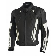Moto bunda RICHA MUGELLO černo/bílá