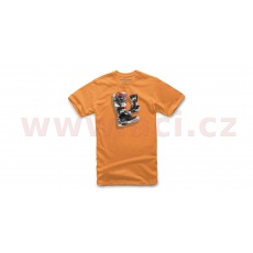 triko TECH 7 BOOT TEE, ALPINESTARS, dětské (oranžové)