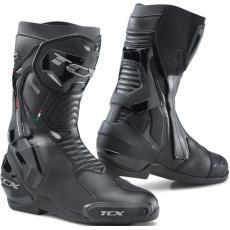 Moto boty TCX ST-FIGHTER GORE-TEX černé