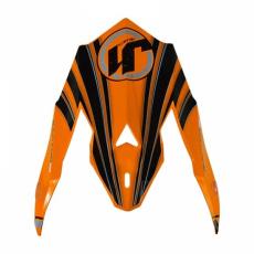 Kšilt JUST1 J32 RAPTOR oranžový