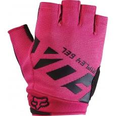 Dámské rukavice Fox Racing Ripley Gel Short Glove Black Pink