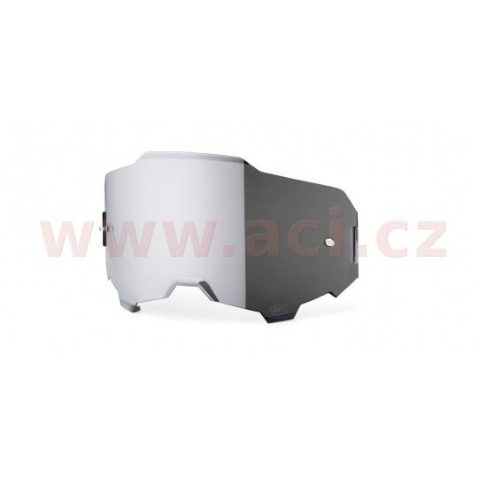 plexi ARMEGA, 100% (stříbrné chrom, Anti-fog)