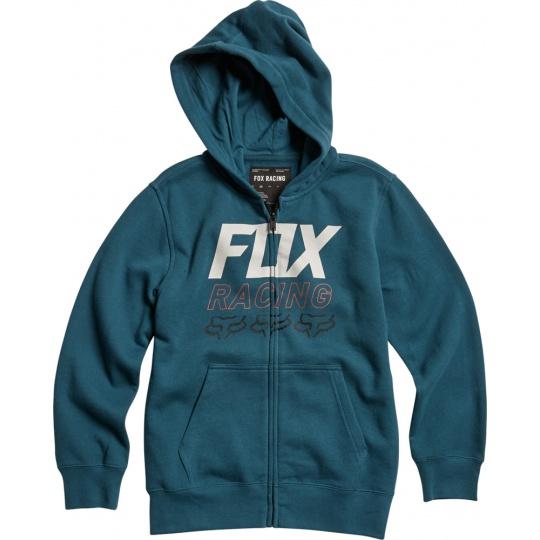 Dětská mikina Fox Youth Overdrive Zip Fleece Midnight Blue