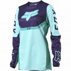 Dámský MX dres Fox Womens 180 Voke Jersey Aqua