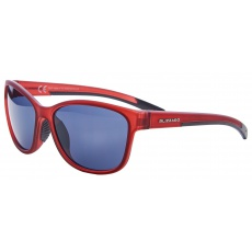 sluneční brýle BLIZZARD sun glasses PCSF702140, rubber trans. dark red, 65-16-135