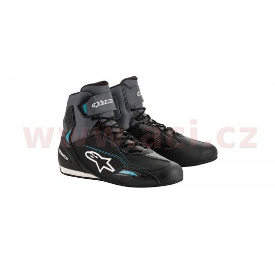 boty STELLA FASTER-3, ALPINESTARS, dámské (černé/šedé/modré)