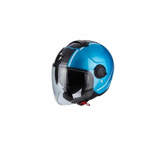 Moto přilba SCORPION EXO-CITY AVENUE modro/černá