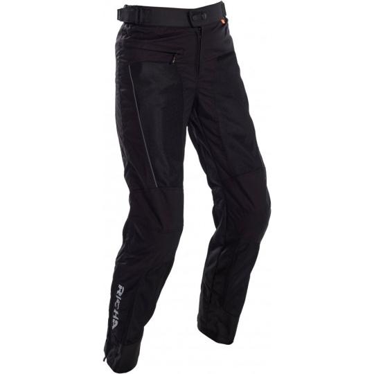 Moto kalhoty RICHA COOL SUMMER černé zkrácené