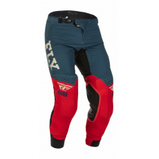 kalhoty EVOLUTION DST, FLY RACING - USA 2022 (červená/šedá)