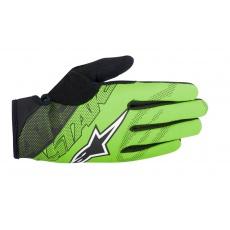 Alpinestars Stratus rukavice teplé - Bright Green - zelené