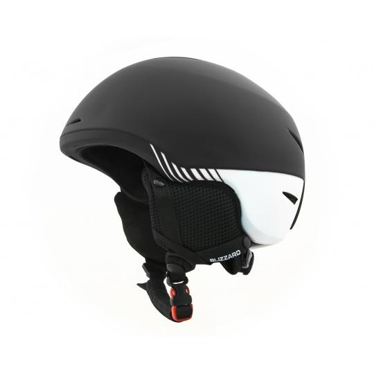 helma BLIZZARD Speed ski helmet, black matt/white matt