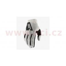 rukavice RIDEFIT, 100% - USA (šedá)