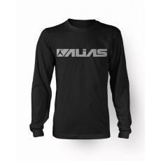 Triko ALIAS MX BLOCK L/S černo/šedé