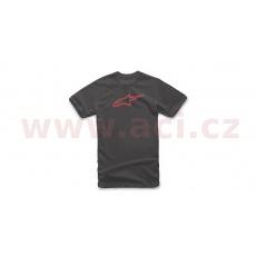 triko AGELESS CLASSIC TEE krátký rukáv, ALPINESTARS (černá/červená)