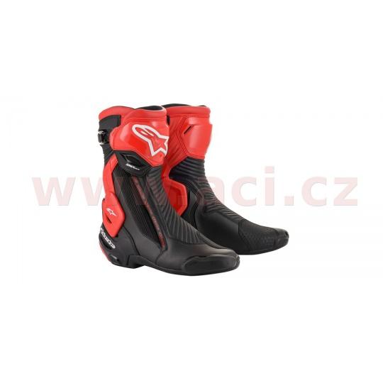 boty SMX PLUS 2020, ALPINESTARS (černá/červená)