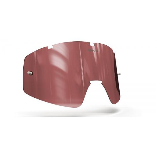 plexi pro brýle FLY RACING FOCUS /ZONE, ONYX LENSES (červené s polarizací)