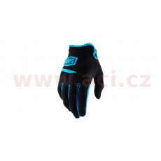 rukavice RIDECAMP, 100% (černá)