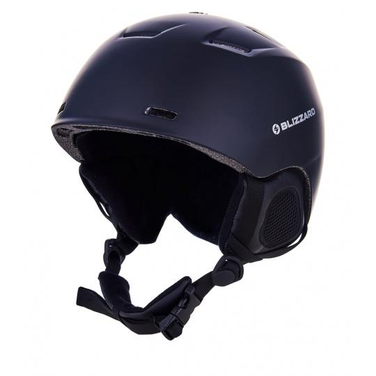 helma BLIZZARD Storm ski helmet, black matt