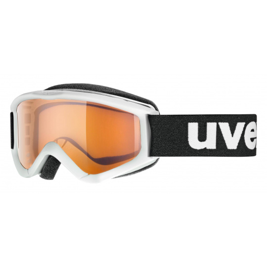 lyžařské brýle UVEX SPEEDY PRO, white/lasergold (1112)