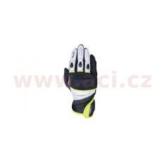 rukavice RP-3 2.0, OXFORD (černé/bílé/žluté fluo)