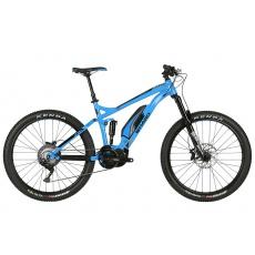 Haro Shift Plus I/O 7 e-bike 27,5 plus  VIVID Blue celoodpr. 140 mm