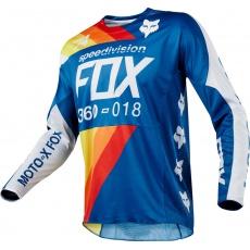 Pánský MX dres FOX 360 Draftr Jersey Blue 2018