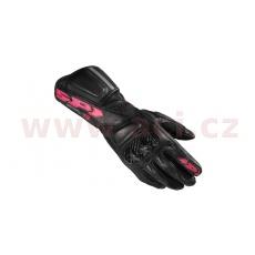 rukavice STR5 LADY dámské, SPIDI (černá/růžová/šedá)
