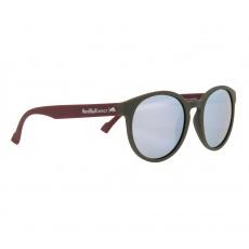 sluneční brýle RED BULL SPECT Sun glasses, LACE-006P, matt olive green rubber, smoke with silver mirror POL, CAT3, 53-20-145