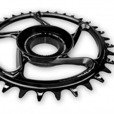 e*thirteen | e*spec Aluminum Direct Mount Chainring | 38T | Shimano E8000 | Black