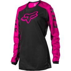 Dámský MX dres Fox Womens 180 Djet Jersey Black/Pink