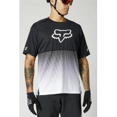 Pánský dres Fox Flexair Ss Jersey Black/White
