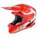 Moto přilba JUST1 J32 PRO KICK matná bílo/červená
