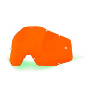100% náhradní sklo Racecraft/Accuri/Strata, Anti-fog, oranžové