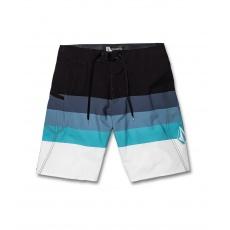 """Pánské plavky Volcom Lido Liney Mod 21"""" Vintage Blue"""