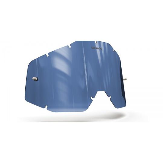 plexi pro brýle 100% Racecraft/Accuri/Strata, ONYX LENSES (modré s polarizací)