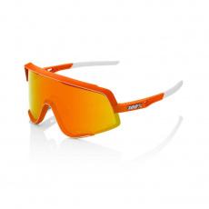 Glendale - Soft Tact Neon Orange - HiPER Red Multilayer Mirror Lens