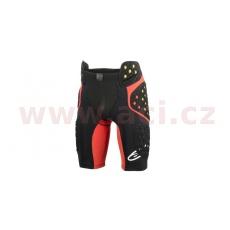 šortky pod kalhoty SEQUENCE PRO 2021, ALPINESTARS (černé/červené/žluté fluo)