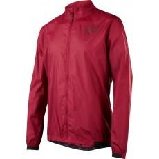 Pánská cyklistická bunda Fox Attack Wind Jacket Dark Red