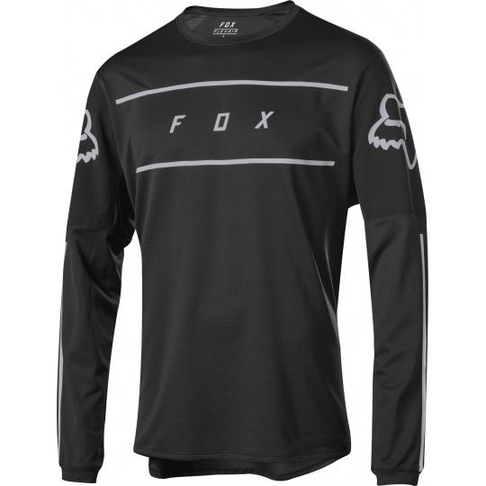 Pánský dres Fox Flexair s Fine ine Jersey Black