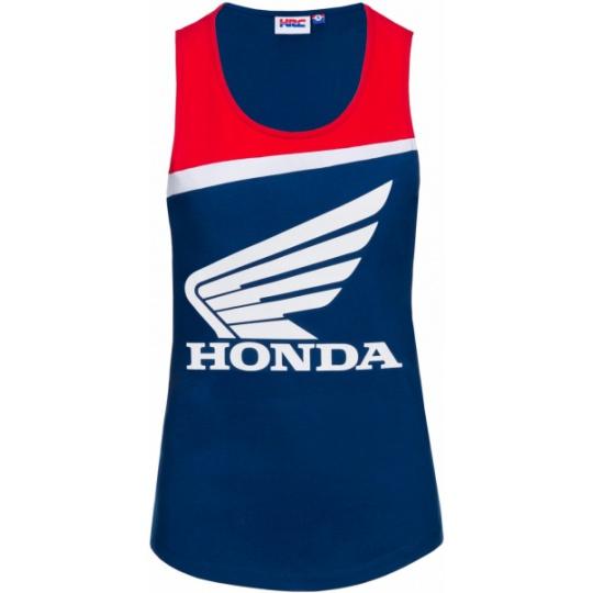 Dámské tílko HONDA HRC modro/červené 18 38012