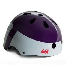 661 Dirt Lid - YOUTH Purple helma dětská