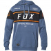 Pánská mikina Fox Official Pullover Fleece Blue Steel
