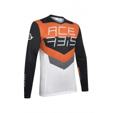 ACERBIS dres MX-TRACKčerná/oranž