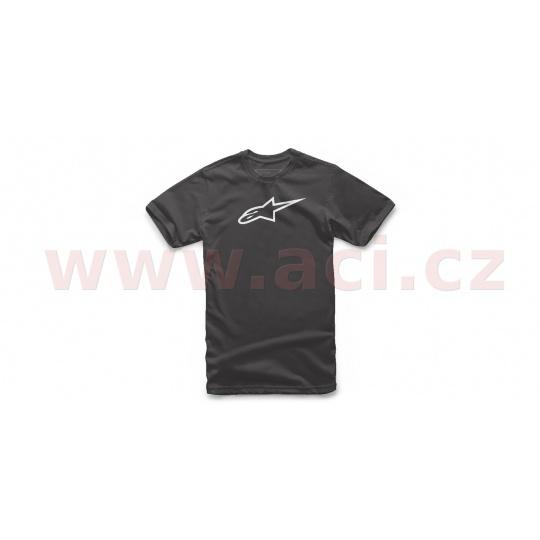 triko KIDS AGELESS TEE krátký rukáv, ALPINESTARS, dětské (černá/bílá)