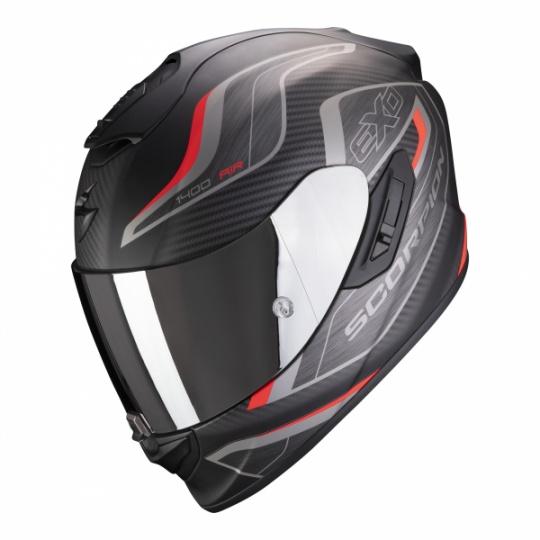 Moto přilba SCORPION EXO-1400 AIR ATTUNE matná černo/červená
